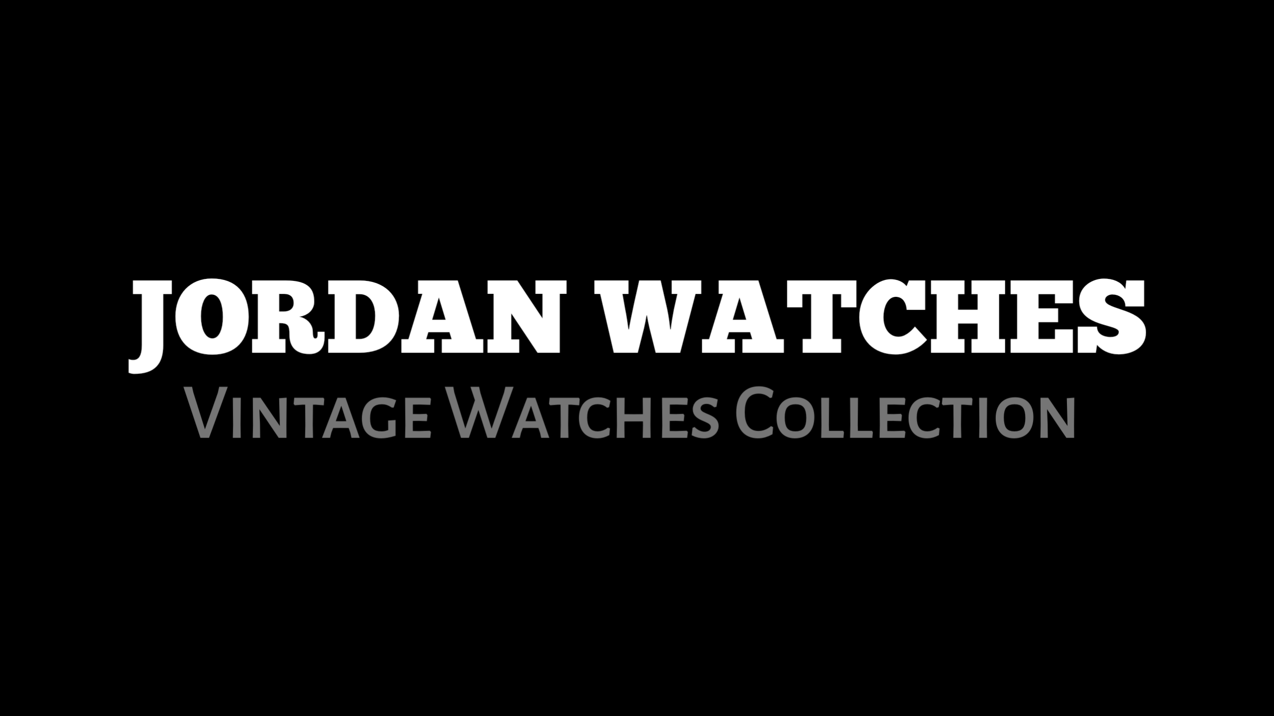 Vintage, Pre Owned, New Watches Online Shop in India